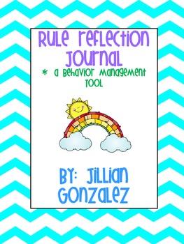 Rule Reflection Journal
