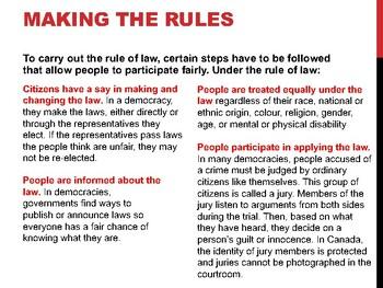 Rule of Law & Magna Carta (Presentation)