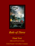 Rule of Three by Eric Walters Unit test