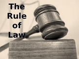Rule of law: British Values - Workshop/ Presentation