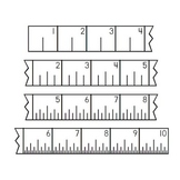 Ruler Fonts - Customary and Metric