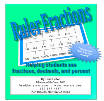 Ruler Fractions: Helping Students See Fractions, Decimals, and Percent