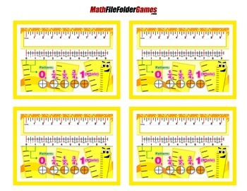 Ruler Fractions = Poster/Anchor Chart with Cards
