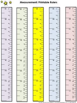 Ruler Measurement Tools: Printable Rulers Half Inch and Ce