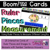 Ruler Pieces: Measurement to the Inch {Boom! Cards}