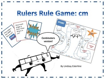 Rulers Rule Game: Centimeters