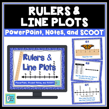 Line Plots and Rulers Bundle for PowerPoint