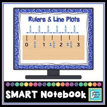 Line Plots and Rulers Bundle for SMART Notebook