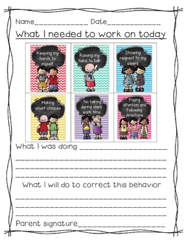 Rules (A Classroom Behavior Plan that is simple and effective)chevron