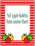 Rules Anchor Chart~ Red Polka Dot Apple Buddies