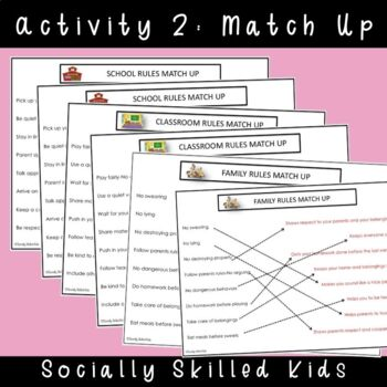 SOCIAL SKILLS: Rules And Laws~ Why We Have Them And Follow Them