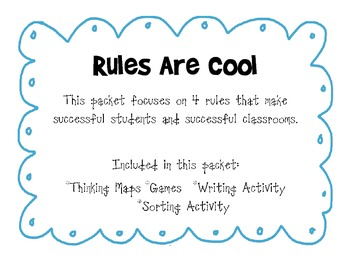 Rules Are Cool