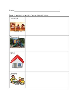 Rules Around the School Assessment