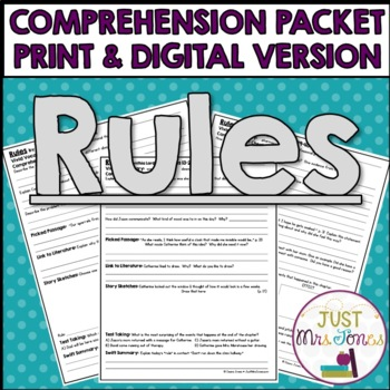 Rules Comprehension Packet