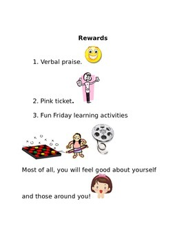 Rules, Consequences and Rewards Posters