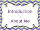 Rules, Expectations, Routines Presentation Editable