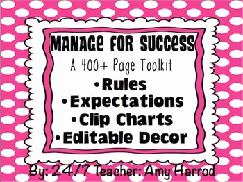 Rules, Expectations and Clip Charts for Classroom Management