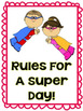 Rules For A Super Day