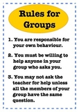Rules For Groups