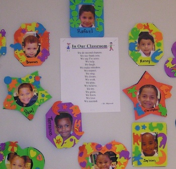 Rules For the Kindergarten Classroom