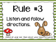 Rules- Forest Friends