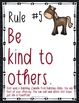 Classroom Rules EDITABLE Text - Farm Animals Decor