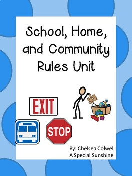 Rules- Laws Unit for Special Education