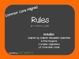 Rules Literature Circle Guide