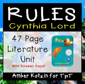 Rules Literature Guide (Common Core Aligned)