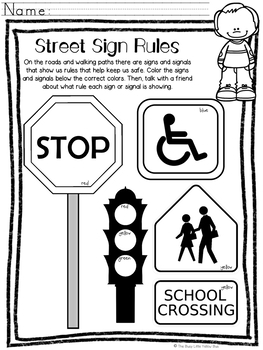 Rules NO PREP Kindergarten Social Studies Mini-Unit