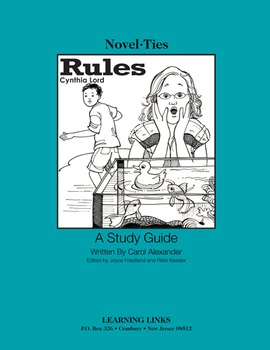 Rules - Novel-Ties Study Guide