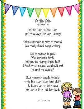 Classroom Rules Poetry and Comprehension FREEBIE