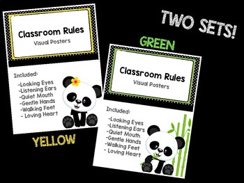Rules Posters - Black & White