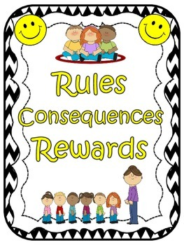 Rules Posters (Black & White Chevron)