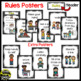 Rules Posters (Black & White Polka Dot)