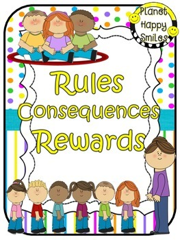 Rules Posters (Bright Polka Dots & Stripes)