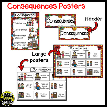 Rules Posters (Super Hero Theme)