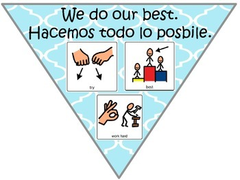 Rules Posters in English and Spanish