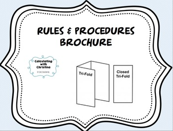 Rules & Procedures Brochure