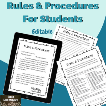 Rules & Procedures for Students