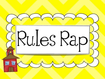 Rules Rap {Picture Cards, Poster, or Mini Book}