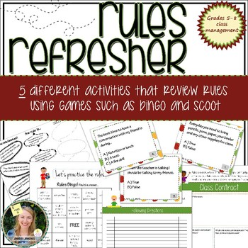 Rules Refresher: Review classroom rules using fun activities