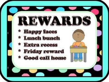 Rules, Rewards & Consequences / Classroom Procedures
