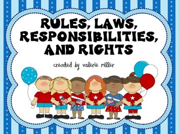 Rules, Laws,Rights, Responsibilities -Common Core Close Reading Unit