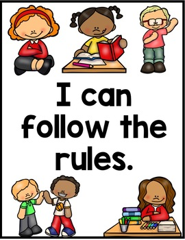 Rules Sort and Visuals for Special Education Teachers