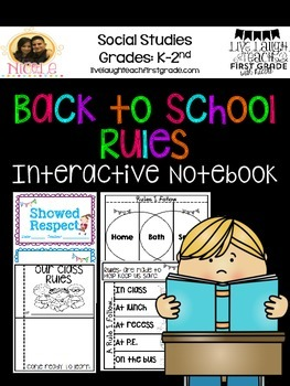 Rules Unit Interactive Notebook