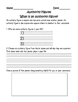 Rules and Authority Figures