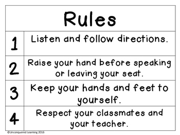 Rules and Consequences