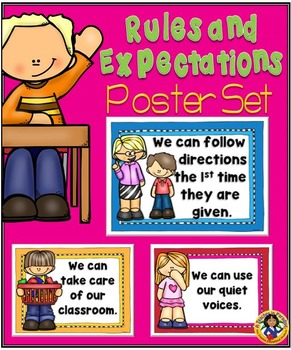 Rules and Expectations Poster Set