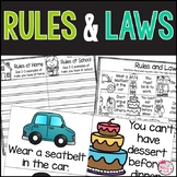 Rules and Laws Activities